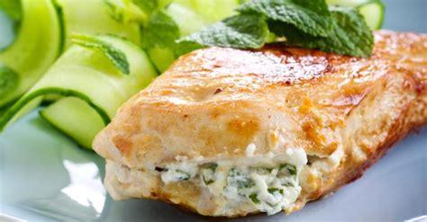 cuisine filet de poulet recette de filets de poulet farcis au basilic et fromage frais 0