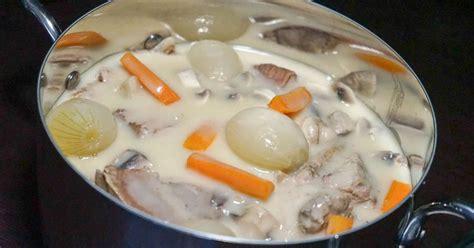 brabantia cuisiner à l ancienne blanquette de veau à l 39 ancienne recette de la blanquette