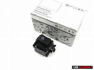 Genuine Vw Headlight Switch With Panel Lighting Rheostat Dimmer