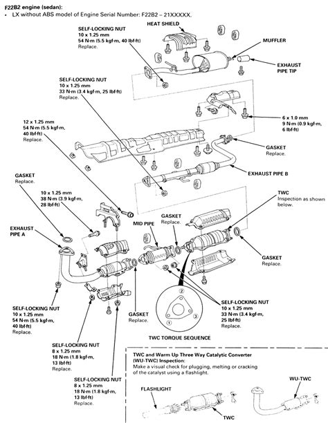 1992 Honda Accord Engine Diagram Exhaust 99 honda accord engine diagram wiring library