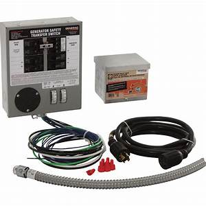 Free Shipping  U2014 Generac Generator Transfer Switch Kit  U2014 30