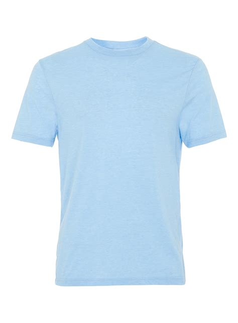 light blue crew neck t shirt shopping s