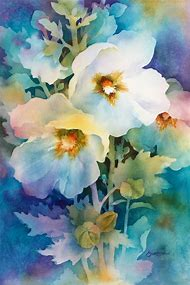 Floral Watercolor Painting Flowers