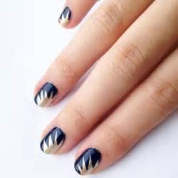 Diy starburst nail art design popsugar beauty