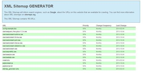 Sitemap Generator With Directory Scan Seo Tools