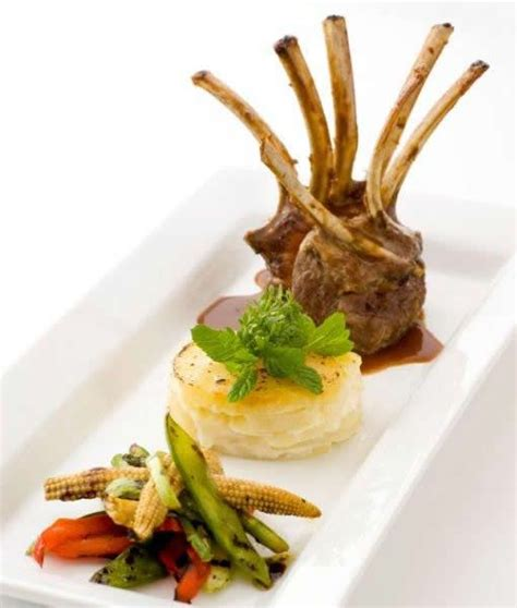 french rack  lamb   parnsnip dauphinois food design pinterest rack  lamb french