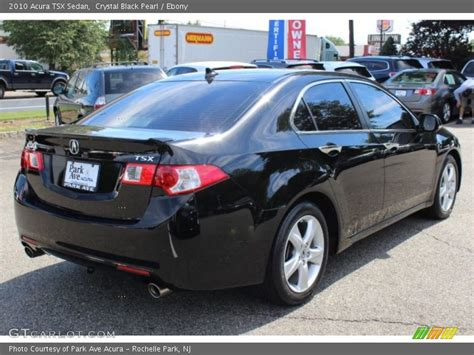 2010 Acura Tsx Sedan In Crystal Black Pearl Photo No