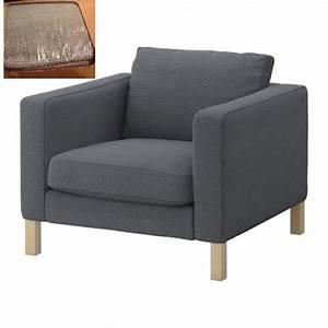 Ikea KARLSTAD Armchair Chair SLIPCOVER Cover KORNDAL