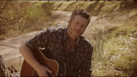 blake shelton chords blake shelton quot i lived it quot official music video chords