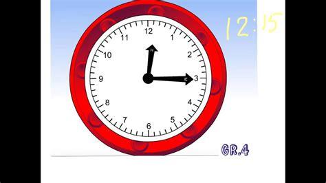 telling time quarter  youtube