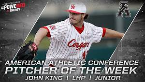 UHCOUGARS.com :: John King Named American Pitcher of the ...
