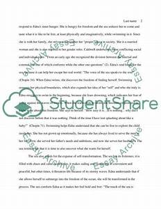 An Essay About Health The Awakening Critical Essays Fortran Array Assignment Essay About Health also Thesis Examples In Essays The Awakening Essays Help For Essay Writing The Awakening Critical  Thesis Statement Essay