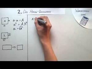 Wurzel Berechnen Ohne Taschenrechner : wurzelziehen ohne taschenrechner youtube ~ Themetempest.com Abrechnung