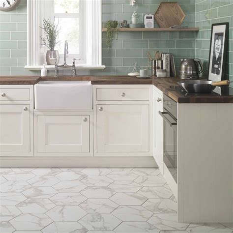 kitchen marble floor top 10 hexagon tiles six sided style walls and floors 2291