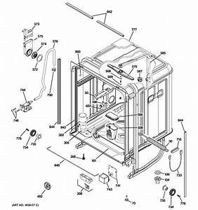 Ge Dishwasher Potscrubber Wiring Schematic  Kitchenaid