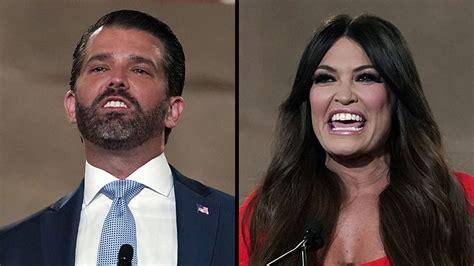 trump jr donald rnc convention republican girlfriend guilfoyle kimberly night gop national biden kim beijing calls