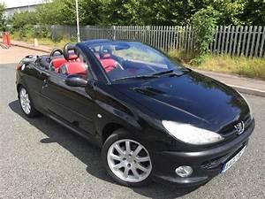 Peugeot 206 Cc : 2002 peugeot 206 cc 2 0 16v convertible petrol manual black wolverhampton sandwell ~ Medecine-chirurgie-esthetiques.com Avis de Voitures