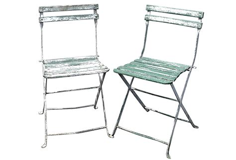 wood metal bistro chairs s 2 omero home