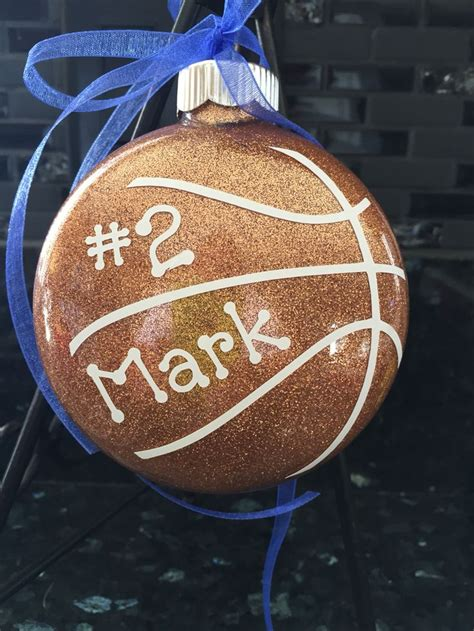 basketball ornament  simply created pinterest