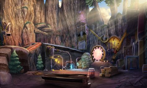 Epic Mickey 2 The Power Of Two Concept Art Nintendo