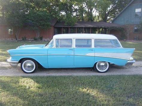 Purchase New 1957 Chevy Station Wagon 350 V8 700r4 Auto