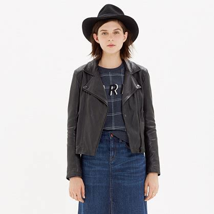 perfect leather motorcycle jacket jackets madewell