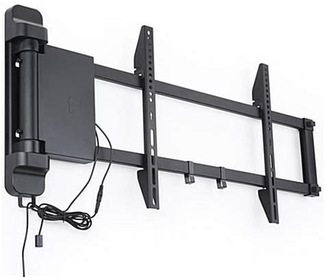 remote tv mount motorized tv wall mount panning motion