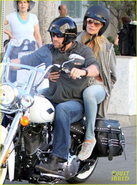 heidi klum martin kirsten motorcycle couple photo