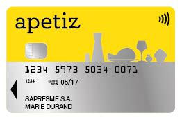 Carte Titre Restaurant Apetiz by Natixis Intertitres Titres De Paiement Apetiz
