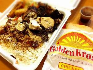 Chicken Plate and the Patty Picture of Golden Krust Caribbean Bakery and Grill, Paterson