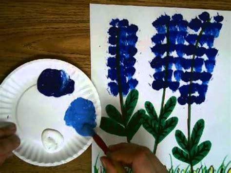 blue bonnet painting project