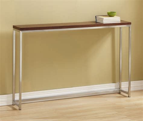 Skinny Side Table Trends With Slim Decorative Picture