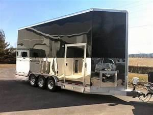 2016 sct stacker trailer for sale at shetron custom trailers With kitchen cabinets lowes with horse bumper stickers