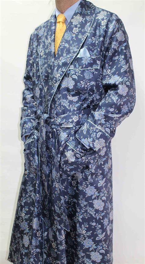 robe de chambre homme en soie robe de chambre classique pour homme 100 soie twill
