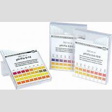 Ph Indicator Paper & Test Strips