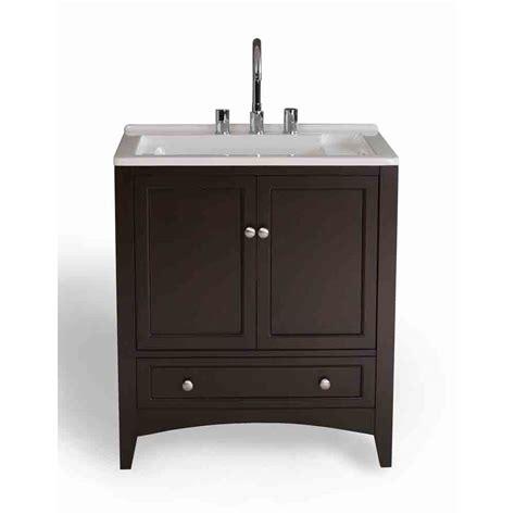 Utility Sink by Stufurhome 30 5 Quot Laundry Utility Sink Vanity Espresso