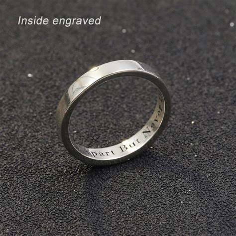 personalized custom name ring 925 solid silver
