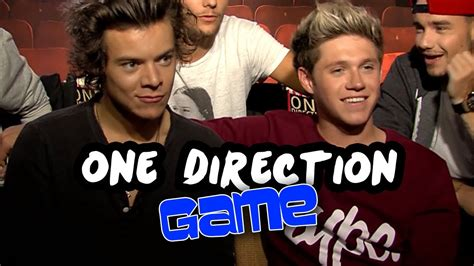 One Direction Raps  Most Likely To Game  This Is Us
