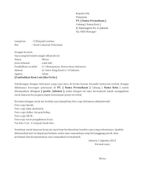 Contoh Surat Lamaran Kerja Untuk Promotor Oppo Kumpulan Contoh Gambar