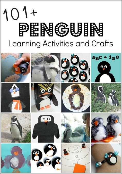 penguin activities and penguin crafts 178 | penguincollagepng
