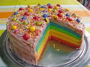 Regenbogen Einhorn Torte : regenbogen torte rezept mit bild von jasemon ~ Frokenaadalensverden.com Haus und Dekorationen
