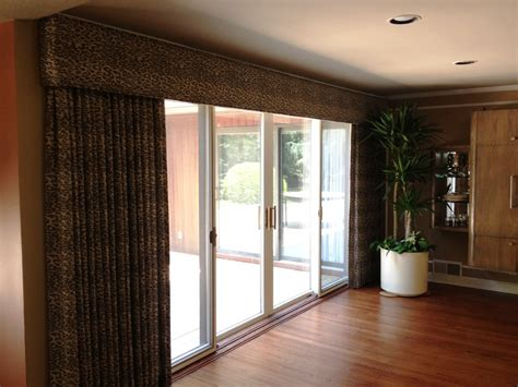 sliding door window treatments decorating ideas for