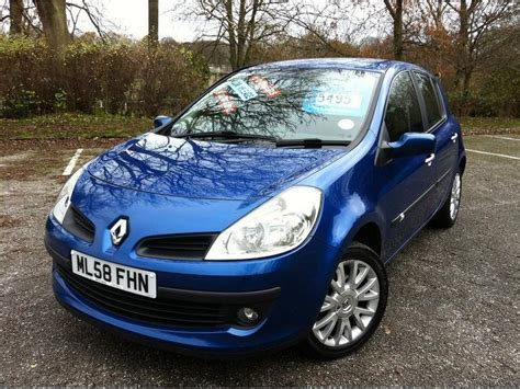 Used Renault Clio 2008 Petrol 1.2 16v Dynamique 5dr