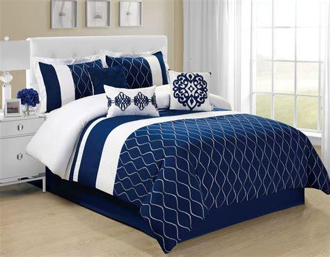 piece malibu navywhite comforter set comforters