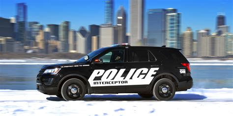 2018 Ford Police Interceptor Vehicles On Display