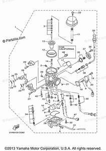 Yamaha Motorcycle 2005 Oem Parts Diagram For Carburetor