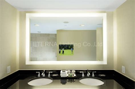 Bathroom Mirrors With Built In Lights by 15 Best Collection Of Vanity Mirrors With Built In Lights