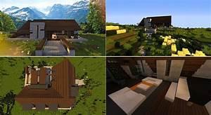 Maison Bois Luxe Image De Maison Minecraft With Image De