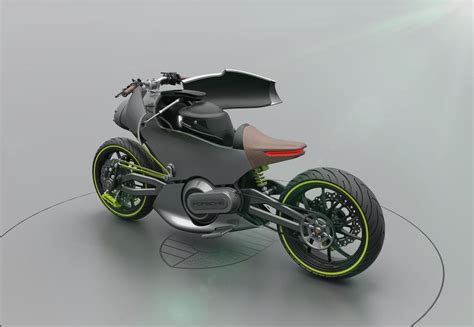Porsche Motorcycle Concept Is A Futuristic Stunner