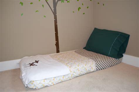 size mattress set bedroom montessori